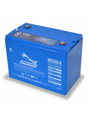 DC220-6 Fullriver 6V 220Ah GRP 27 Sealed Lead Acid AGM Battery