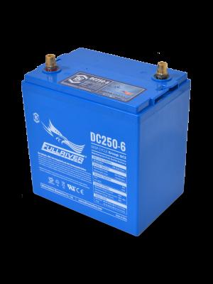 DC250-6 Fullriver 6V 250Ah GC2H Sealed Lead Acid AGM Battery