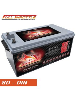 Fullriver Full Throttle FT1625 2950 PHCA, AGM Specialty Battery Group 8D (DIN)