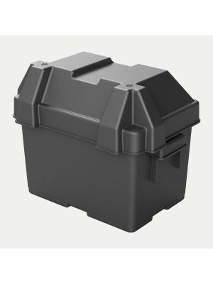HM082BK - Group U1 Snap-Top Battery Box - 12V Marine RV Battery Box Storage